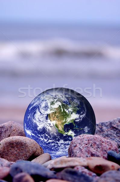 Save the Earth Stock photo © photocreo