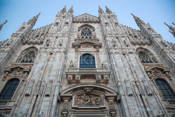 Milan Cathedral, Duomo. Italy Stock photo © photocreo