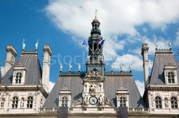 ホテル パリ フランス 住宅 市 建物 ストックフォト © photocreo