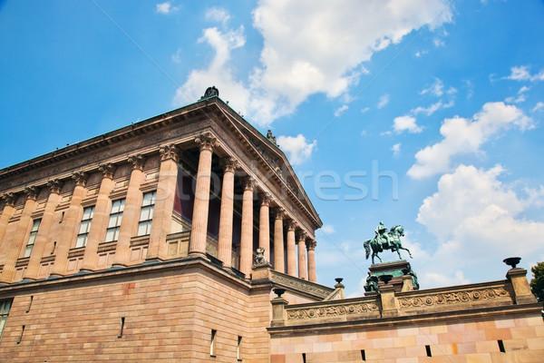 Altes Museum. Berlin, Germany Stock photo © photocreo
