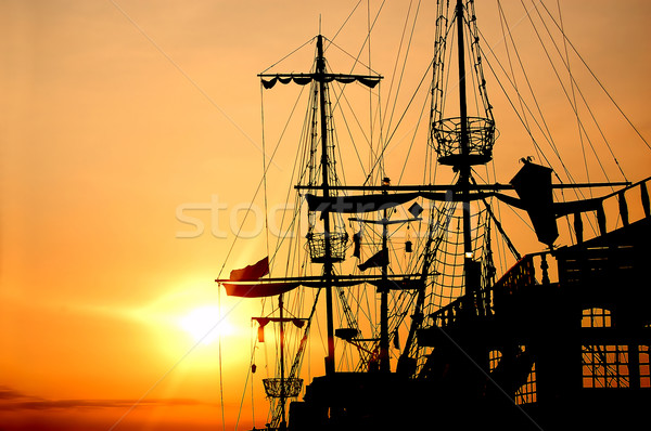 Pirate ship Stock photo © photocreo