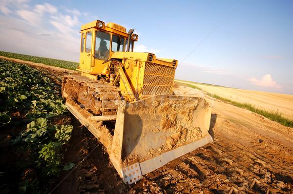 Excavator working Stock photo © photocreo