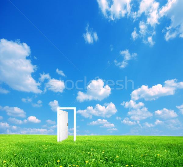 Door to new world.  Stock photo © photocreo