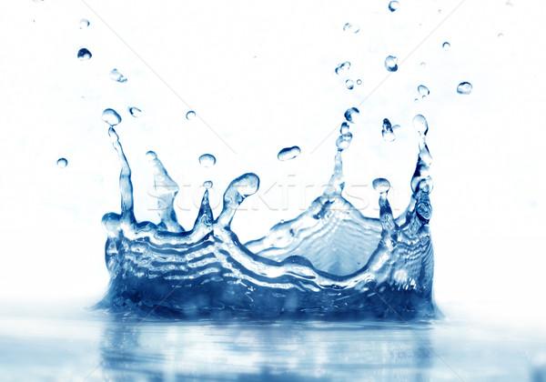 清浄水 スプラッシュ 白 反射 健康 水 ストックフォト © photocreo