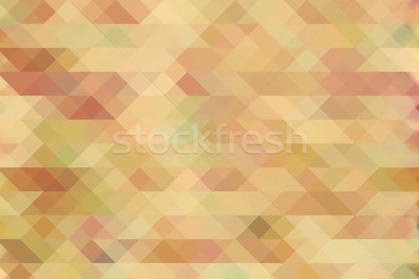 ダイヤモンド パターン ヴィンテージ レトロな 色 トレンディー ストックフォト © photocreo