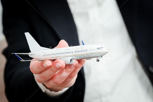 самолет модель транспорт самолета Сток-фото © photocreo