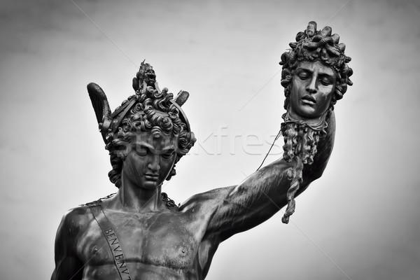 Oude sculptuur lichaam florence Italië stijl Stockfoto © photocreo