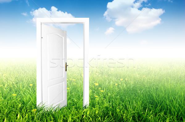 Door to the new world. Stock photo © photocreo