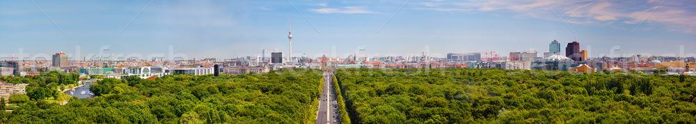 Stockfoto: Berlijn · panorama · tv · toren · top