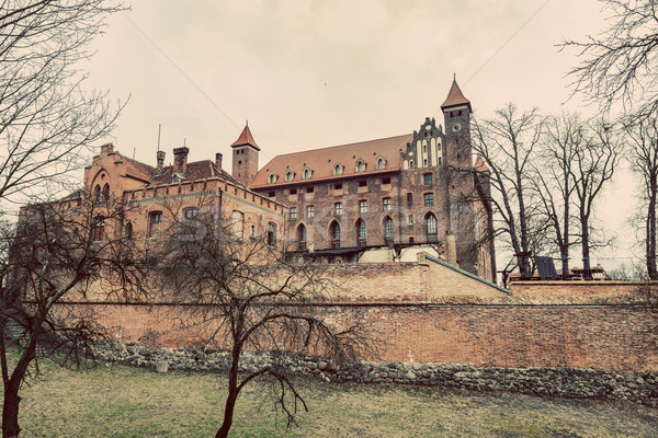 Castle in Gniew, Poland. Vintage Stock photo © photocreo