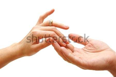 Touch... Stock photo © photocreo