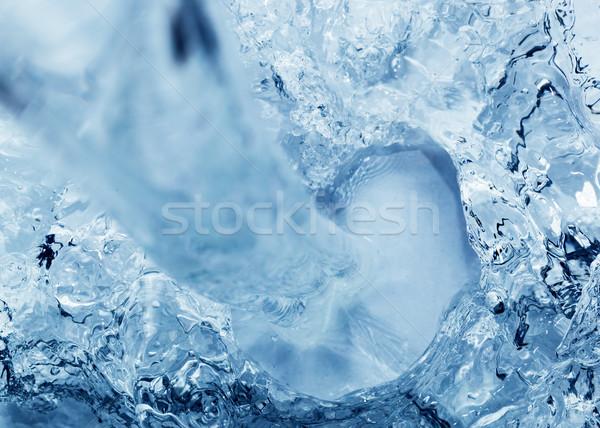 Propre eau douce eau écouter perspectives Photo stock © photocreo