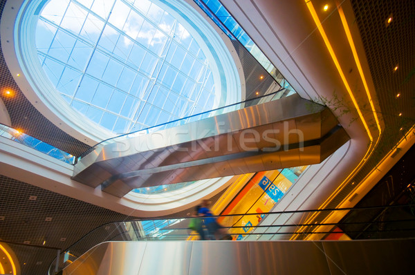 Modern shopping center Stock photo © photocreo