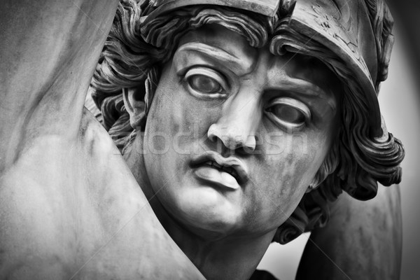 Anciens tête sculpture viol FLORENCE Photo stock © photocreo
