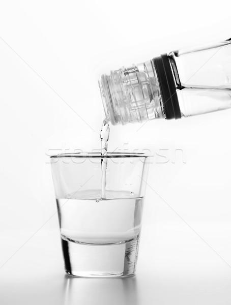 Vodka vidrio blanco alcohol fiesta bar Foto stock © photocreo