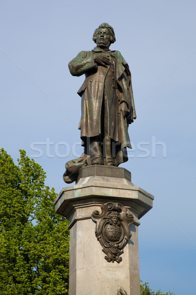Varsovie Pologne ville Voyage vintage statue Photo stock © photocreo