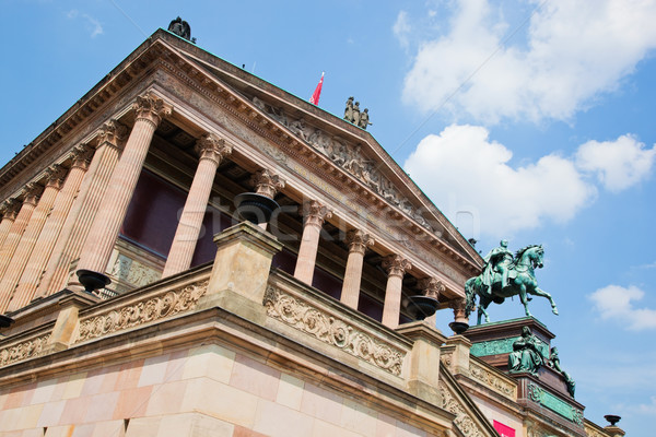 Altes Museum. Berlin, Germany Stock photo © photocreo