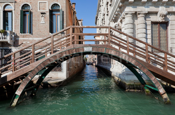 Venice, Italy. A bridge over Grand Canal Stock photo © photocreo