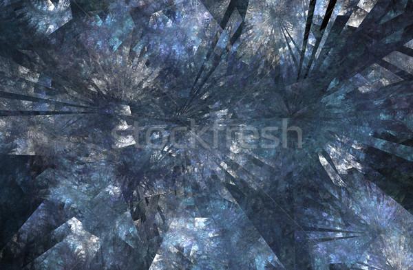 Fractal lodu jak mróz Zdjęcia stock © photohome