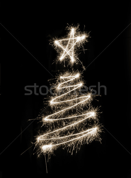 Sparkling Xmas Tree Stock photo © photohome