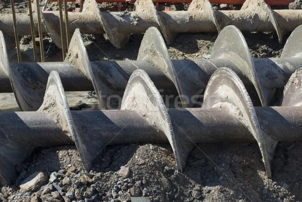 building a foundation Stock photo © photohome
