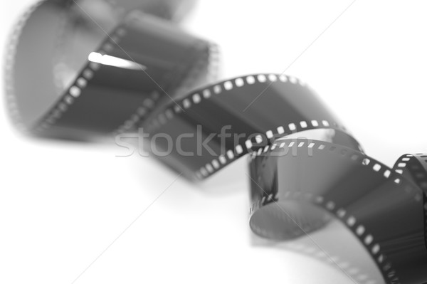 Coiled exposed 35 mm film strip Stock photo © photohome