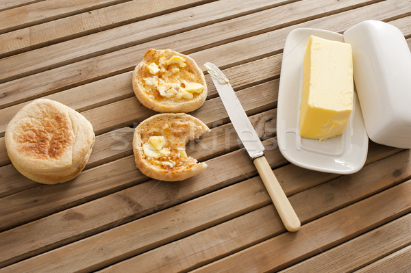 Granja mantequilla uno mesa Foto stock © photohome