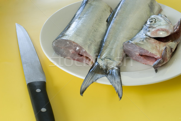 fish filleting Stock photo © photohome