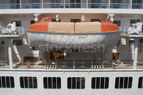 Foto stock: Vida · barco · navio · de · cruzeiro · seguro
