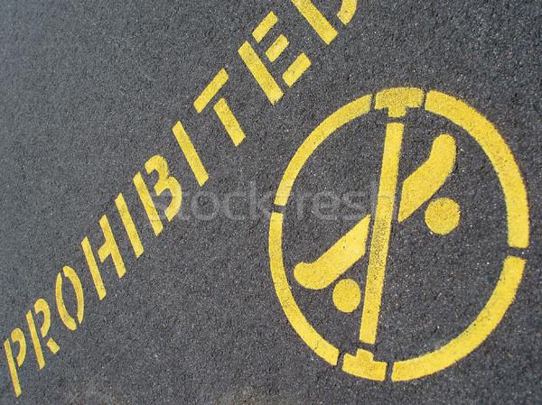 no skating sign Stock photo © photohome