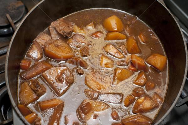 Tasty stew or hot pot Stock photo © photohome