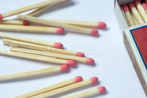 matchs and matchbox Stock photo © photohome