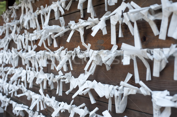 Omikuji Wishes Stock photo © photohome
