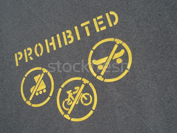 no cycling or skating Stock photo © photohome