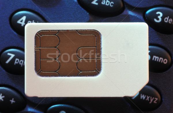 Sim card Stock photo © photohome