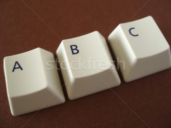 ABC keys Stock photo © photohome