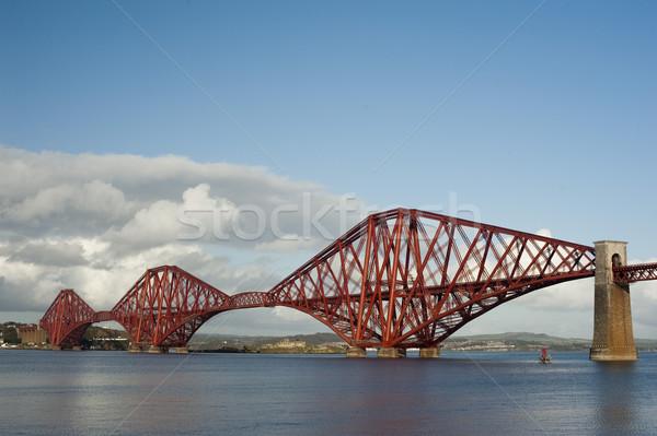 Foto stock: Ponte · icônico · engenharia · trens · atravessar · mundo