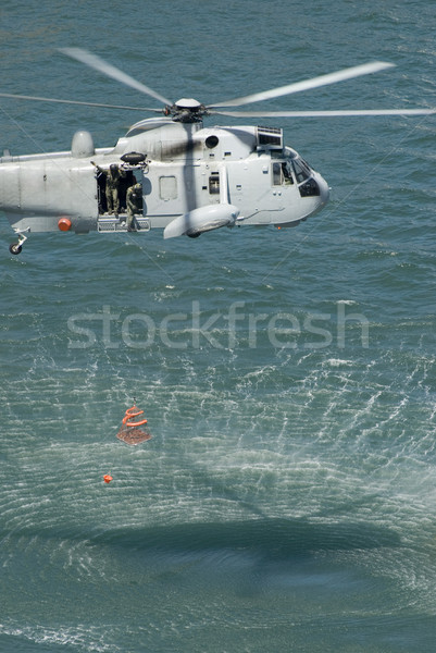 Rescue Helicopter Stock photo © photohome