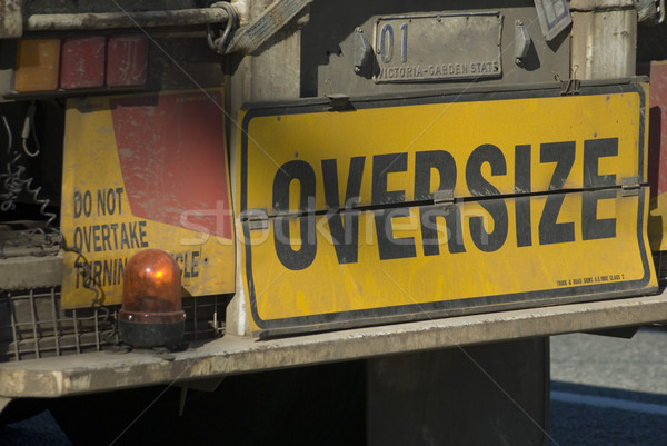 oversize load Stock photo © photohome