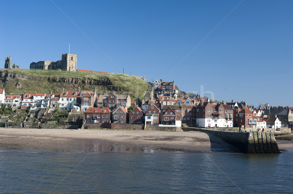 Stock photo: Whitby in North Yorkshire
