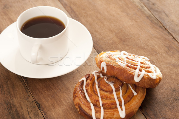 Coffee with Danish pastries Stock photo © photohome