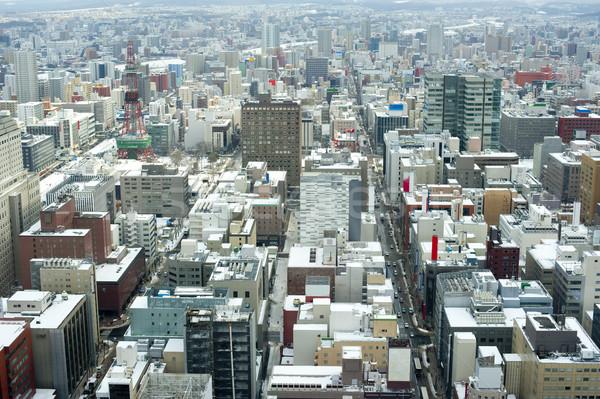 Sapporo, Japan in winter Stock photo © photohome
