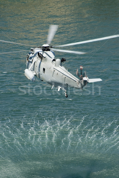 navy sea king helicopter Stock photo © photohome