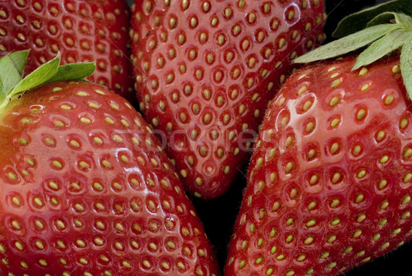 Delicious ripe red strawberries Stock photo © photohome
