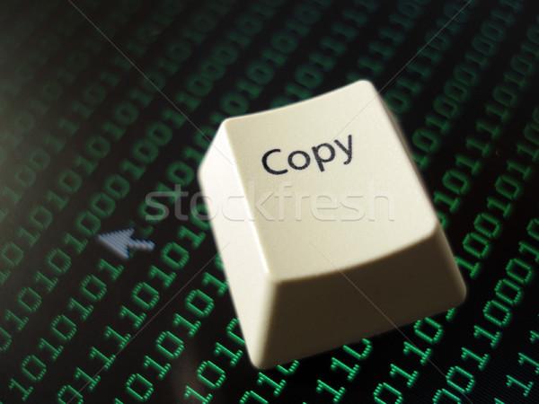 computer copy key Stock photo © photohome