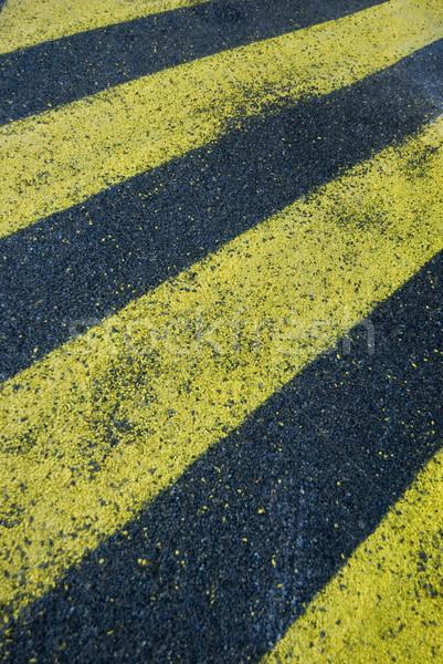 yellow stripes Stock photo © photohome