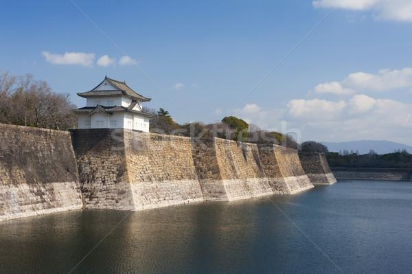 壁 城 日本 小 塔 ストックフォト © photohome