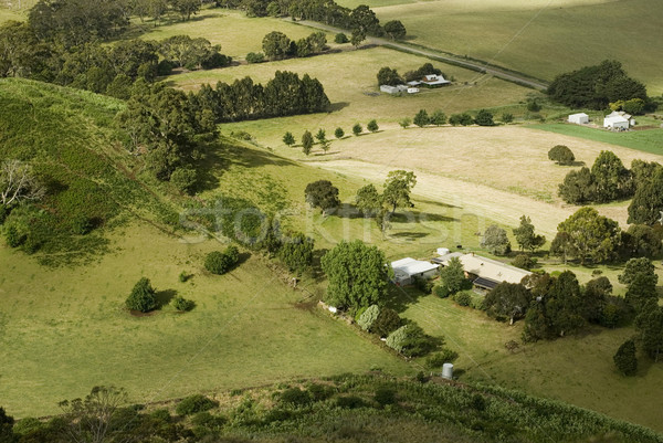 Small Rural Farms Stock photo © photohome