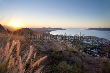 Sunset view of Townsville, Queensland, Australia Stock photo © photohome