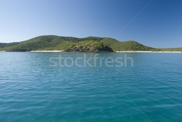 Nagyszerű sziget egyedüli jacht el Queensland Stock fotó © photohome